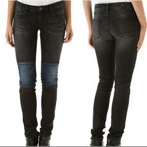 40% MAISON SCOTCH La Parisienne Black Skinny Jeans
